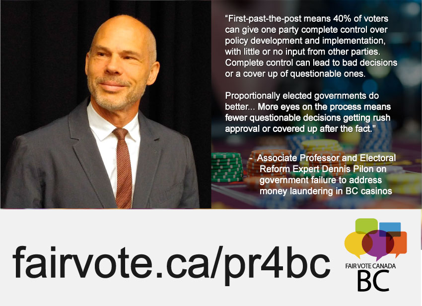Electoral Reform Expert Links Money Laundering Problem with the Voting System