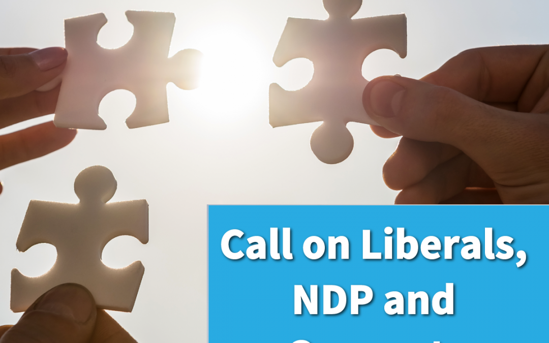 Fair Vote Canada calls for cooperation and a National Citizens' Assembly on Electoral Reform!