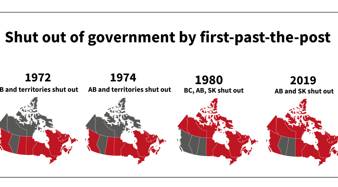Fair Vote Canada calls for real solutions to the West being left out – not band-aid appointments