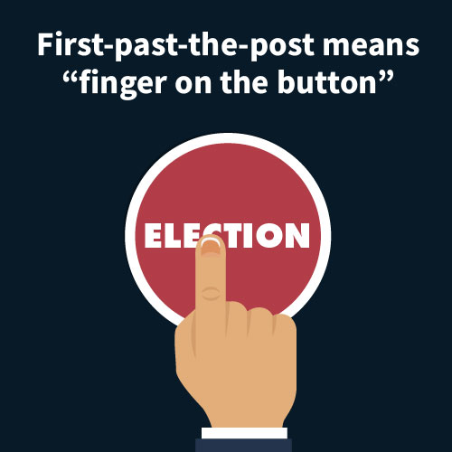 """First-past-the-post means """"finger on the button"""" instead of cooperation"""